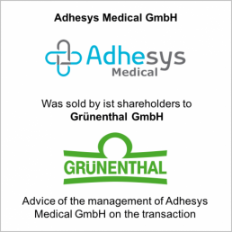 adhesys gruenthal sold
