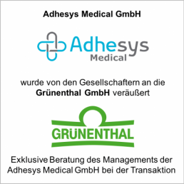 adhesys gruenthal verkauf