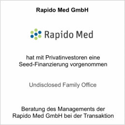 rapido med undisclosed family office