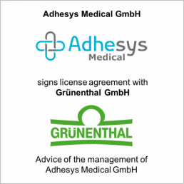 adhesys gruenthal license