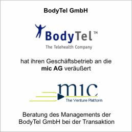 bodytel mic ag