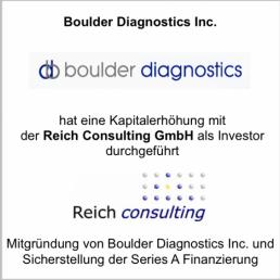 boulder diagnostics reich consulting