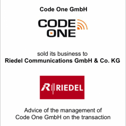 code one riedel