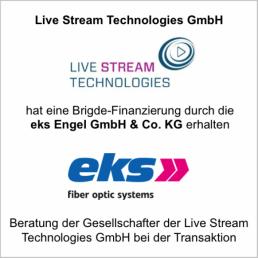 livestream technologies eks finanzierung